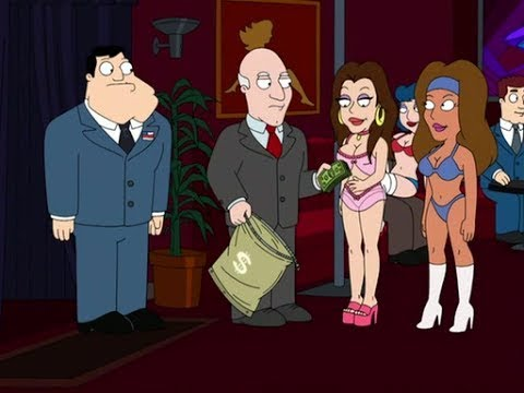 American Dad - Stan Goes to A Strip Club - [American Dad]