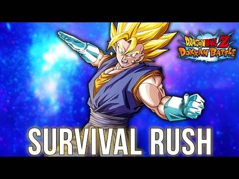 Dokkan Battle SURVIVAL RUSH! TEAM BUU SAGA w/Blaziken68 _x DBZ Dokkan Battle