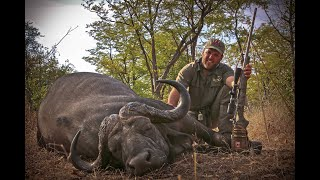 """Cape Buffalo hunting in Zambia's Luangwa Valley """"Trailing The Hunters Moon"""""""