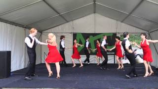 UNSW Latin Dance Society O-Week 2015 Thursday Salsa Performance [front camera]