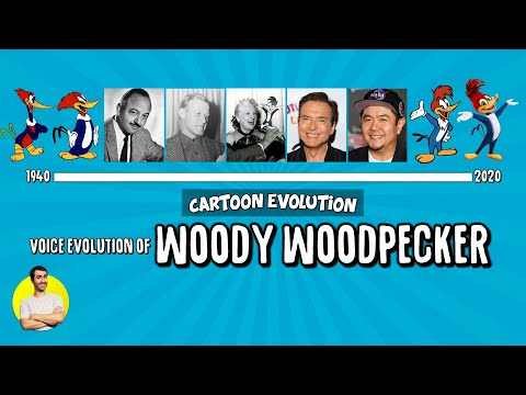 Voice Evolution of WOODY WOODPECKER - 80 Years Compared & Explained | CARTOON EVOLUTION