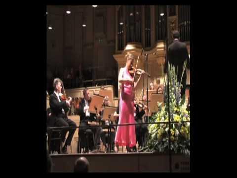 Paganini Violin  concerto Nr 1(1.part) , Op 6 Maria Solozobova live at Tonhalle Zürich