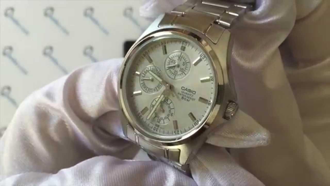 Casio Mtp-1246d-7avdf - YouTube