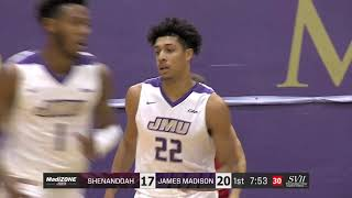 HIGHLIGHTS: JMU Men's Basketball vs. Shenandoah