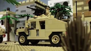 Лего фильм война в Ираке - трейлер (Lego war in Iraq trailer)