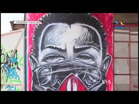 Kenyan graffiti artists invited to showcase African mural art in Australia