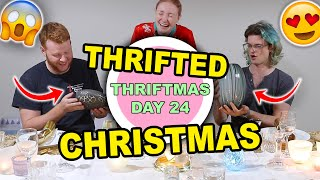 THRIFTED GIFTS I'M GIVING THIS CHRISTMAS & THRIFTED CHRISTMAS DECORATIONS   THRIFTMAS DAY 24