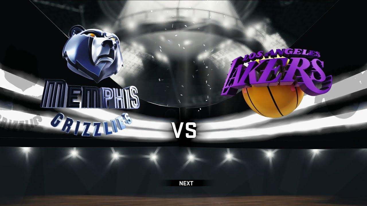 """Résultat de recherche d'images pour """"Los Angeles Lakers vs Memphis Grizzlies"""""""