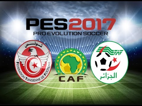 PS4 PES 2017 Gameplay Tunisia vs Algeria HD