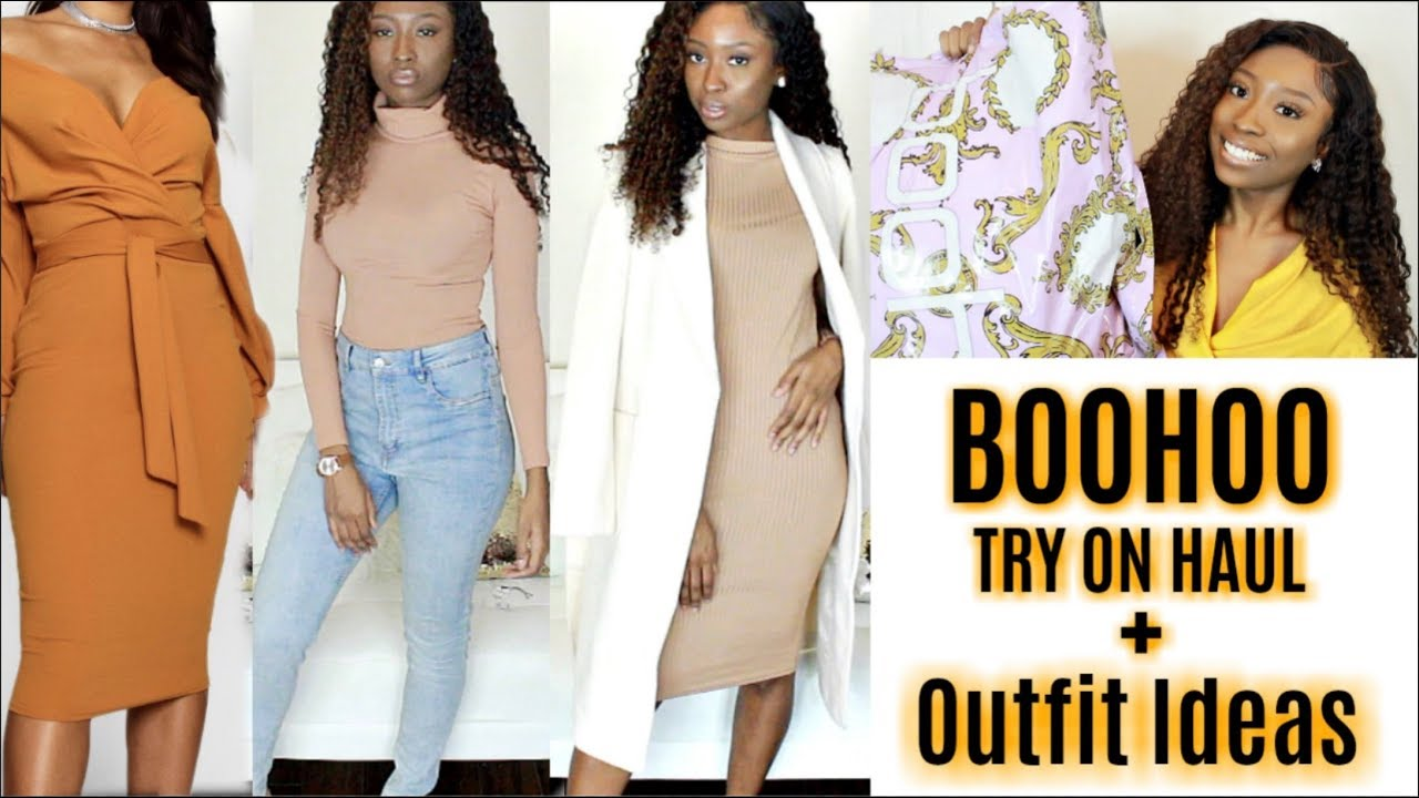 [VIDEO] - $500 NEW IN BOOHOO Autumn Winter Try On Haul + Bougie On A Budget Outfit Ideas 2019 8