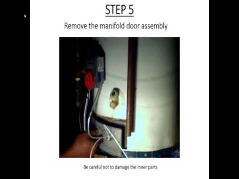 How to fix a Whirlpool water heater - YouTube