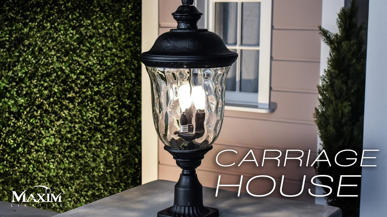 The Carriage House Vivex Collection By Maxim Lighting