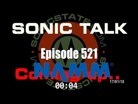 Sonic TALK 521 - Arturia, Moog + Pre NAMM Preamble