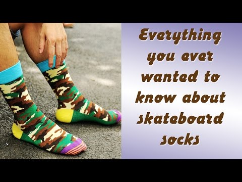 Everything you ever wanted to know about skateboard socks