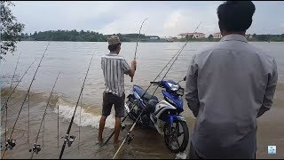 River fishing - this kind of fish is a few days only