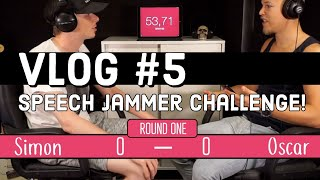Oscar's Vlog #5 - Speech Jammer Challenge