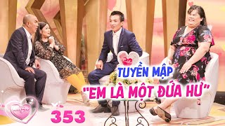 The Newlyweds | Ep 353: Tuyen Map blamed herself for being easy, cut off with husband for hardships