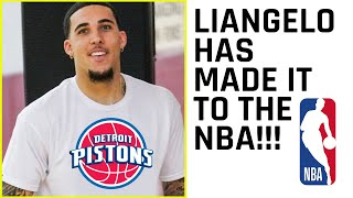 Liangelo Signed By the Pistons! He SHOCKED and IMPRESSED their Coaches in Private Workout!!!