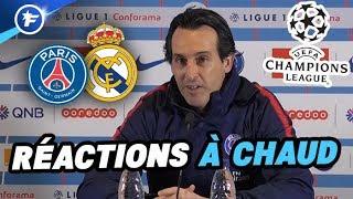 LDC : Emery réagit au tirage PSG-Real Madrid