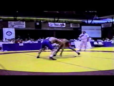 2000 Senior Nationals Championships: 76 kg Sean Pierson vs. Jeremy Cruise