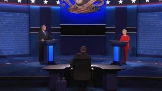 Markets hand debate victory to Clinton