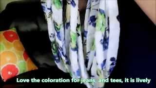 Accessory Scarves:  Trending Infinity Scarves Thumbnail
