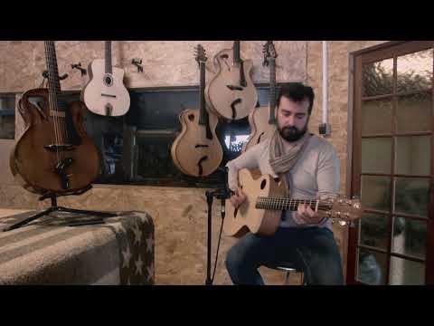 Echo d'Artistes Guitare Folk Grand Auditorium Sélection Acajou