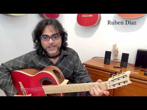 Understanding modal harmony in flamenco 1 / Ruben Diaz modern guitar lesson CFG Spain
