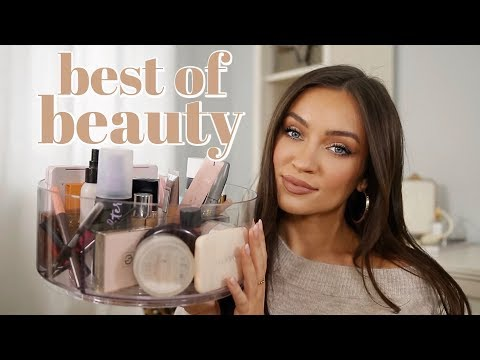 BEST OF BEAUTY 2019: high end + drugstore FAVORITES (makeup,