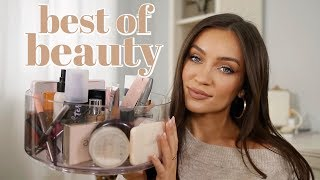 BEST OF BEAUTY 2019: high end + drugstore FAVORITES (makeup, skin, fragrance)