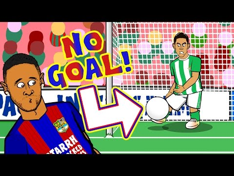 NO GOAL! Real Betis vs Barcelona - did the ball cross the line? LA LIGA CONSPIRACY?!