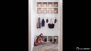 видео Современный ремонт и дизайн узкой прихожей: отделка ее длинной части и коридора