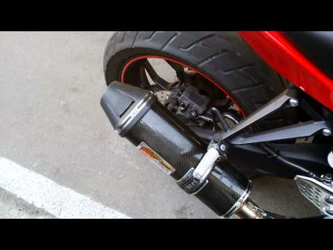EXHAUST/KNALPOT CLD EVO 2 FULL CARBON FOR YAMAHA R25