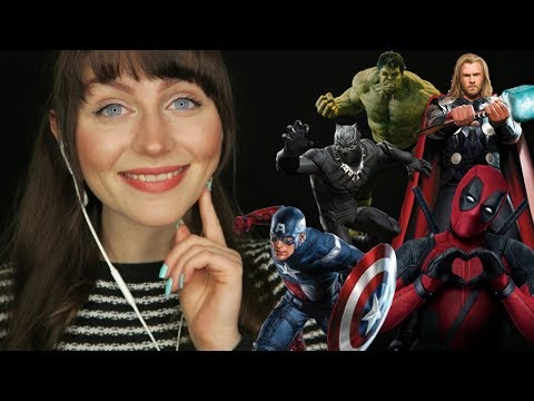 ASMR~ 101 marvel facts [Whispering]
