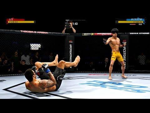 Download BRUCE LEE VS FABRICIO WERDUM   UFC 4 BRUTAL FIGHT   UFC 4 K1 RULES   UFC 4 2020   EA SPORTS UFC 4