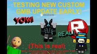 Roblox Toytale Roleplay | Custom GMB Testing!