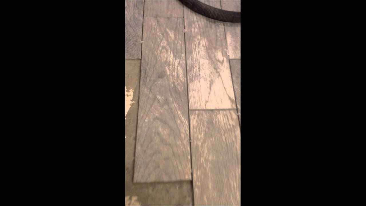 Bathroom Remodel Gray Tile diy : dapple gray tile and bathroom remodel progress - youtube