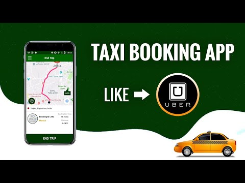 Taxi Booking App Like Uber | On Demand Ride Sharing App