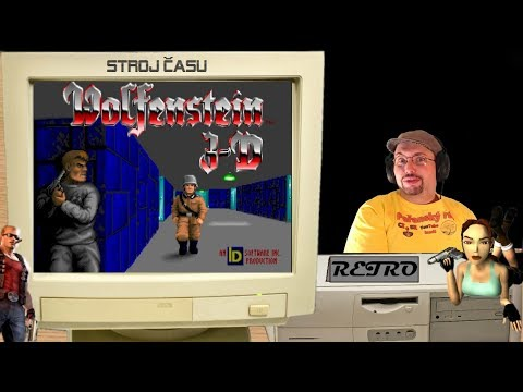 Stroj času - Retro: Wolfenstein 3D | 1992 - PC | CZ Gameplay | Livestream záznam