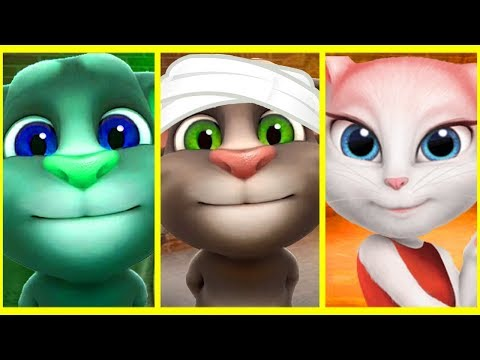 Thumbnail: Talking Tom and Friends - Talking Angela New Episodes - Learn colors with Talking Tom