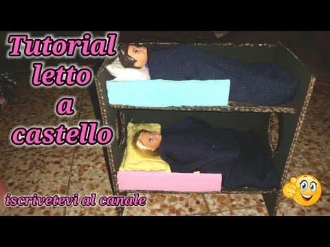 Fare Un Letto A Castello : Come fare il letto a castello tutorial di barbie my life