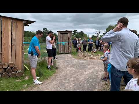 Rory Crawford & Ferne Corrigan (CBeebies) Open Artic Adventure At Slimbridge WWT