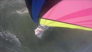 Windsurfing @ Wijk aan Zee 18-10-2019