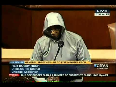 Congressman Bobby Rush Kicked Off House Floor For Wearing