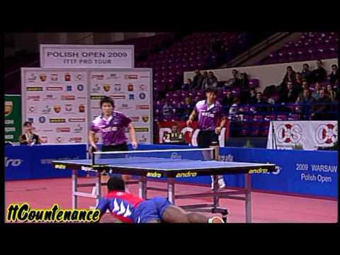 Polish Open: Oh Sang Eun Kim Jung Hoon-Christophe ...