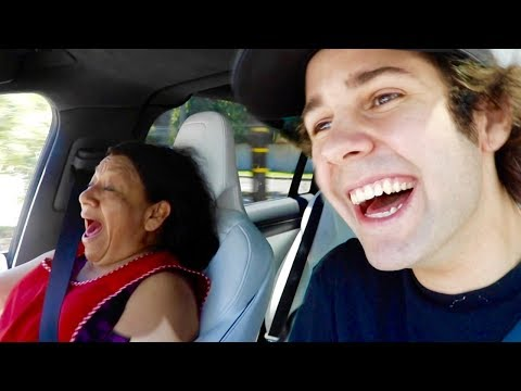 grandmas-first-time-in-$150,000-car!!-(freakout)