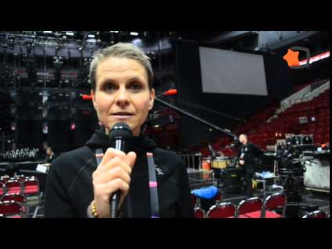 Melodifestivalen 2015 Semifinal 2 Stage Buidling