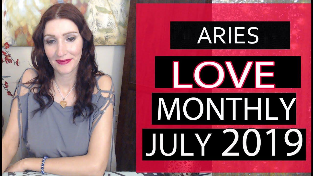 ARIES MONTHLY LOVE TAROT