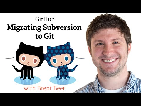 Migrating Subversion to Git