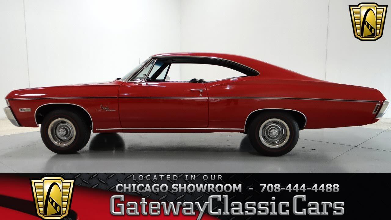 Impala 1968 chevy impala parts : 1968 Chevrolet Impala SS Clone Gateway Classic Cars Chicago #767 ...